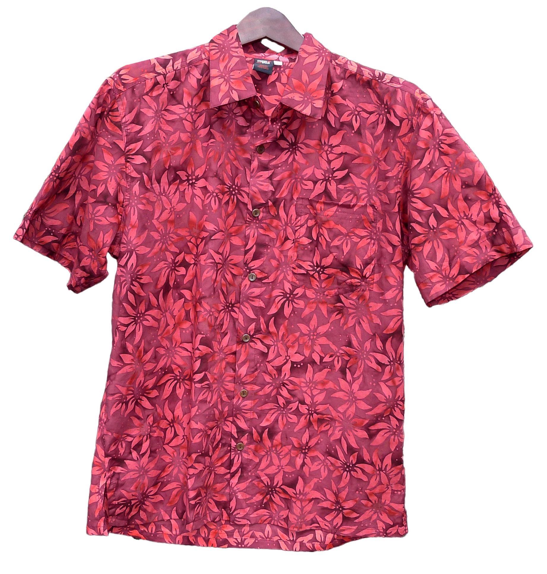 Mens batik shirts by squish for Men s batik bay silk blend button down shirt