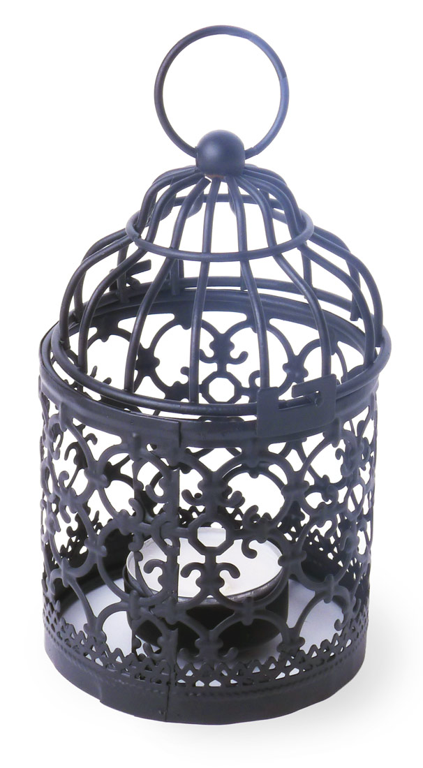 Image of Votive Table Lanterns - Birdcage, Set of 3