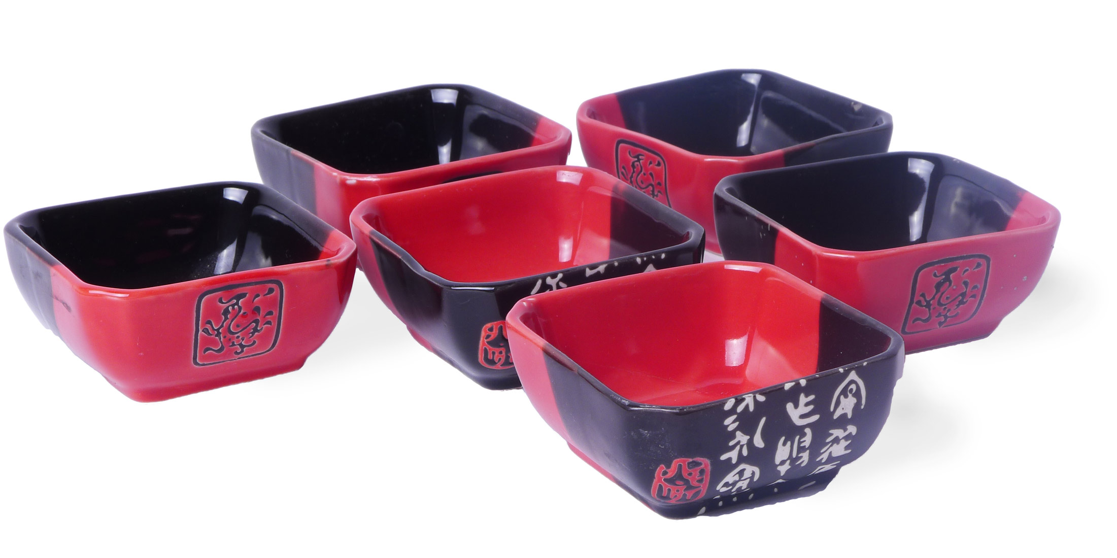 Image of Sushi Dipping Dish Set of 6