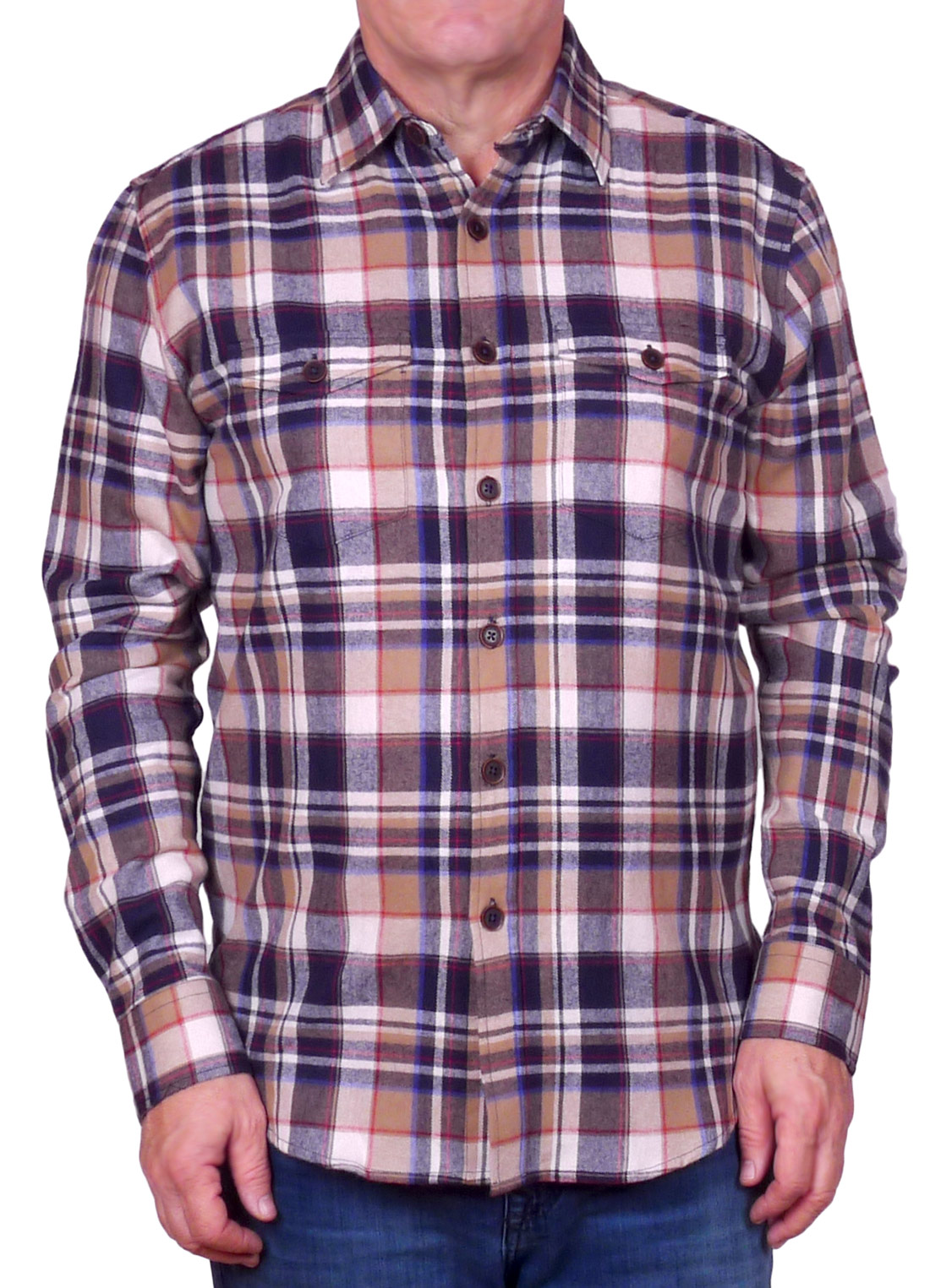 Image of Long Sleeve Flannel - FLH