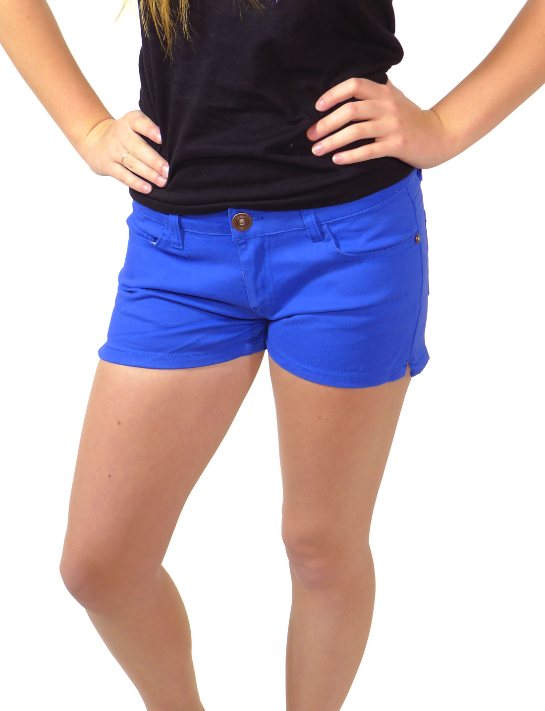 Blue Womens Shorts