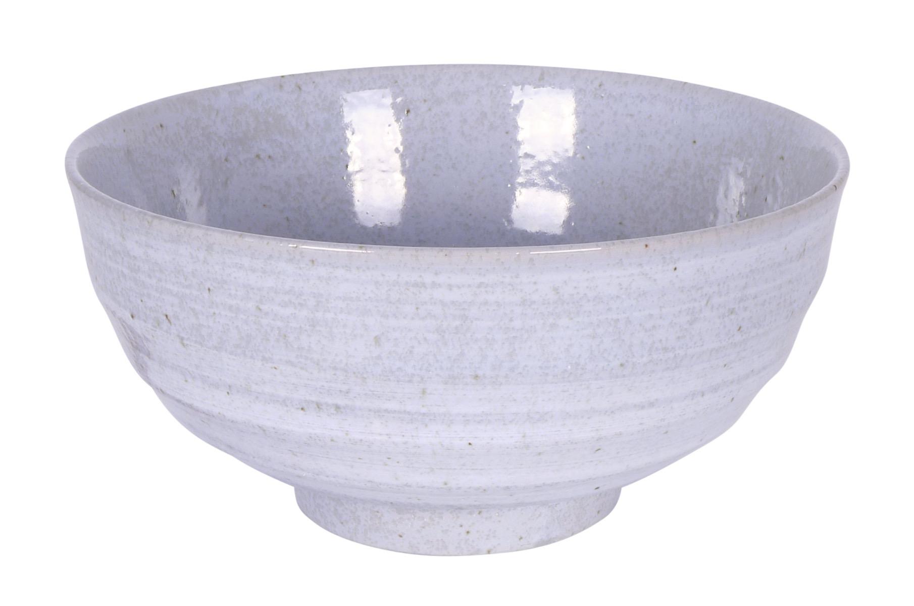 Image of Stoneware Bowls, Gray, 6.75 x 3.25-Inch