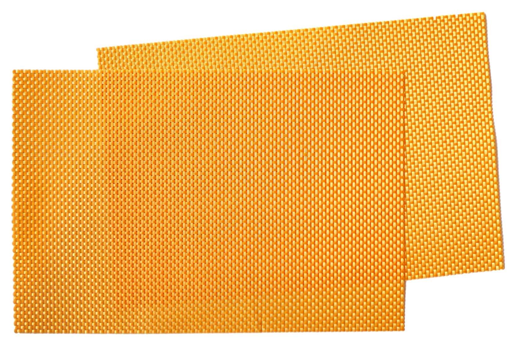 Image of Woven Vinyl Mat Tangerine MAT18