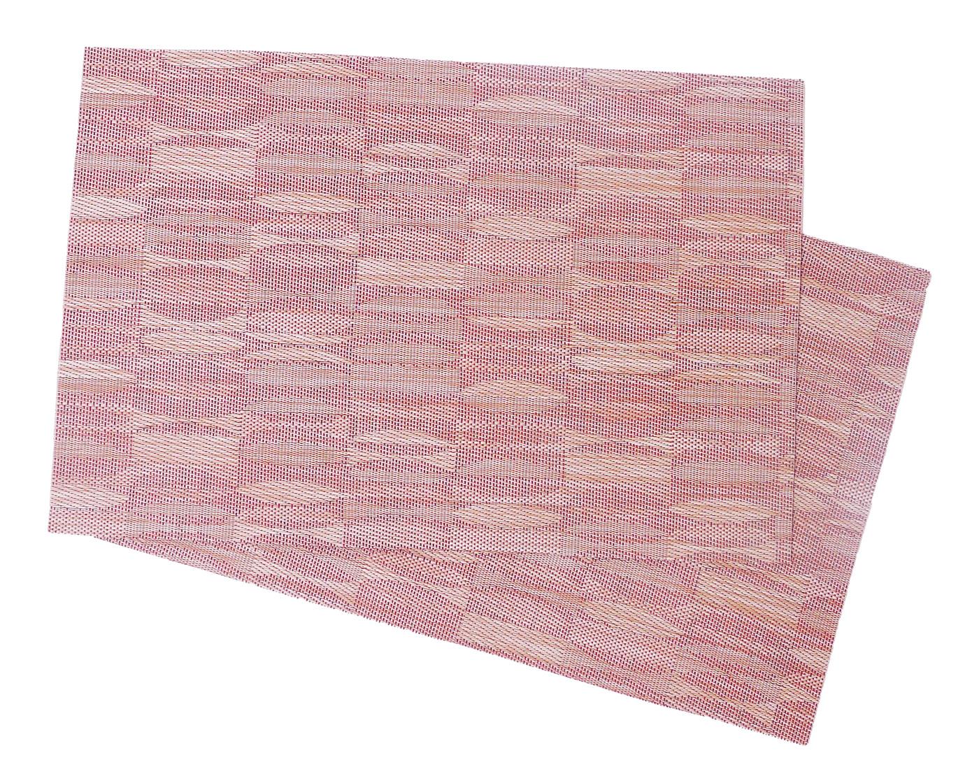 Image of Crossweave Woven Vinyl Placemat, Terrazo MAT27