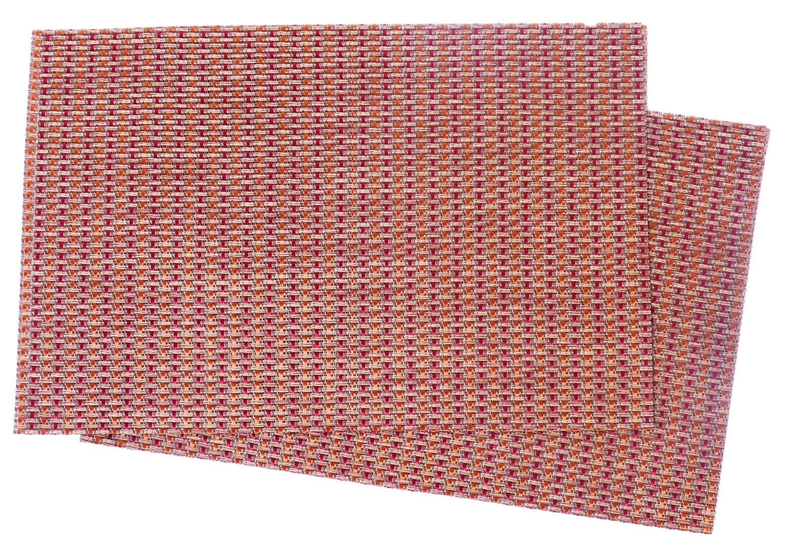 Image of Woven Vinyl Mat Thicket, Set of 4 MAT29