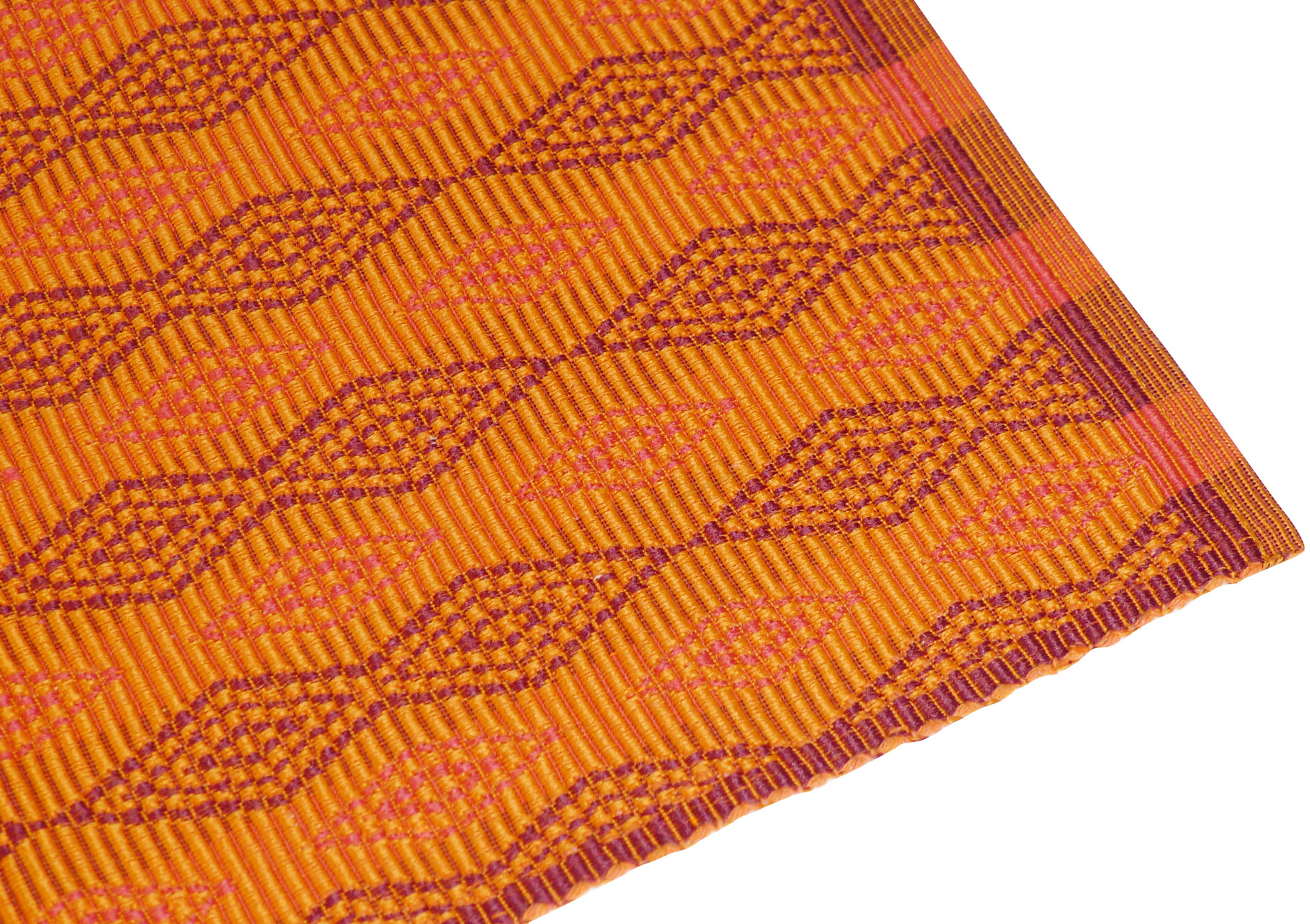 Image of Spiceberry Cotton Placemats - Moroccan Diamond Pattern - Set of 4
