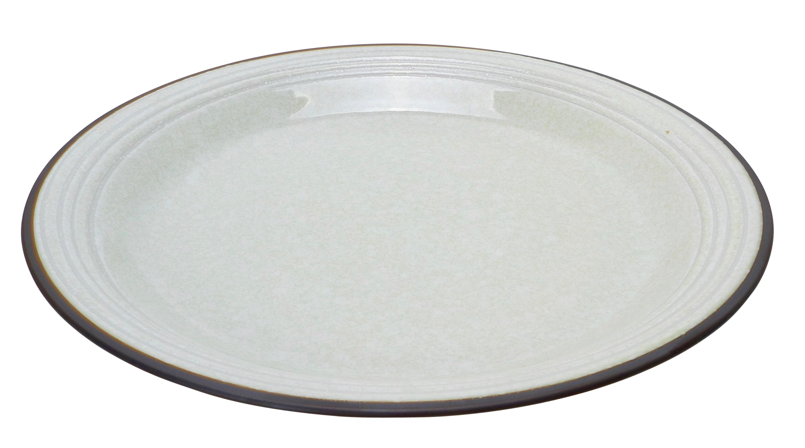Image of SERVING PLATE - White Handformed Porcelain 11-Inch