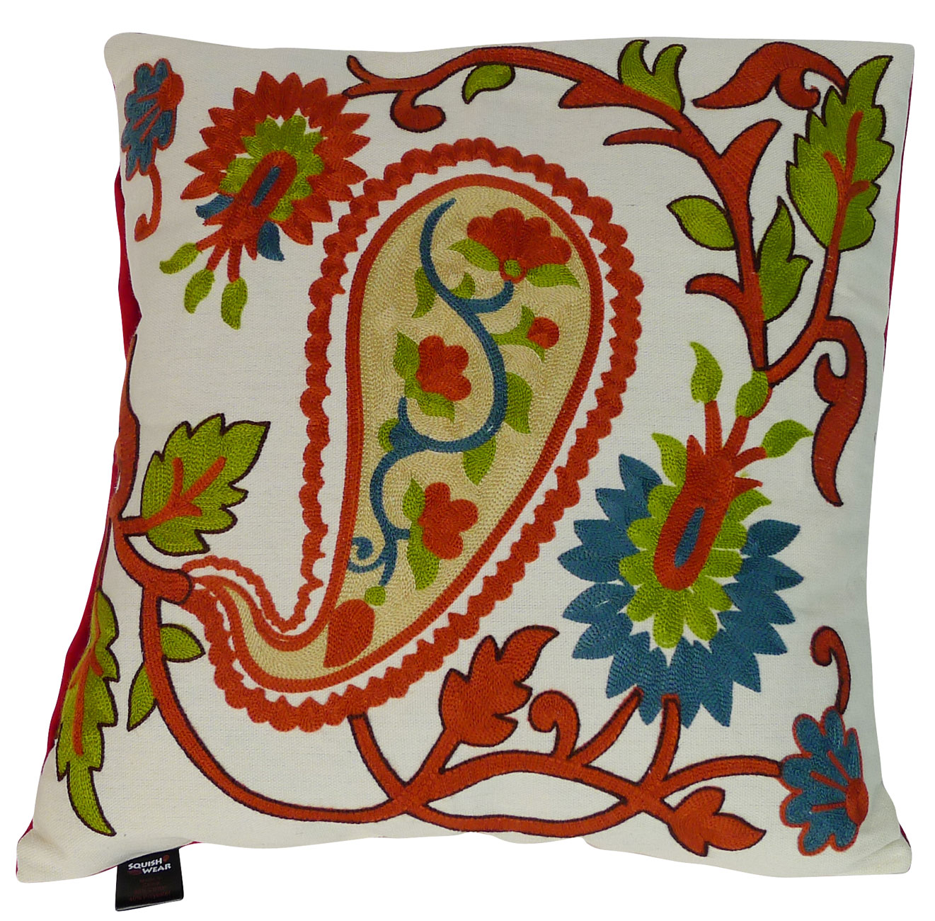 Image of Ivy Pillow Embroidered Cover