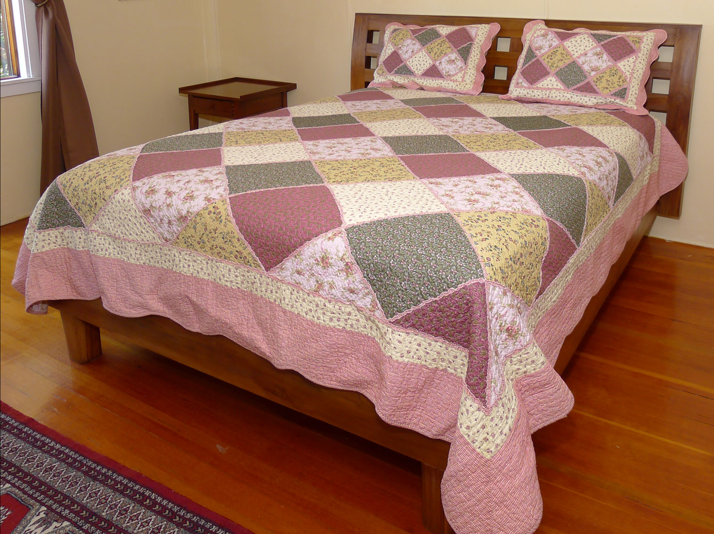 Image of Queen Size Quilt 03 Set - 98x90