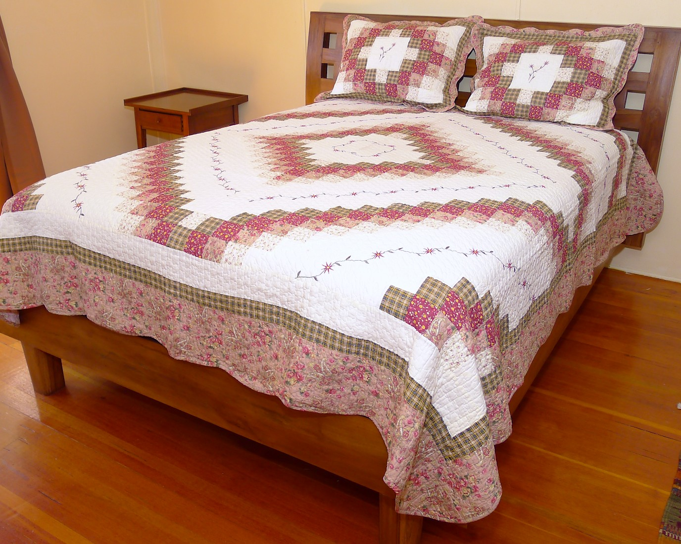Image of Queen Size Quilt 06 Set - 96x96