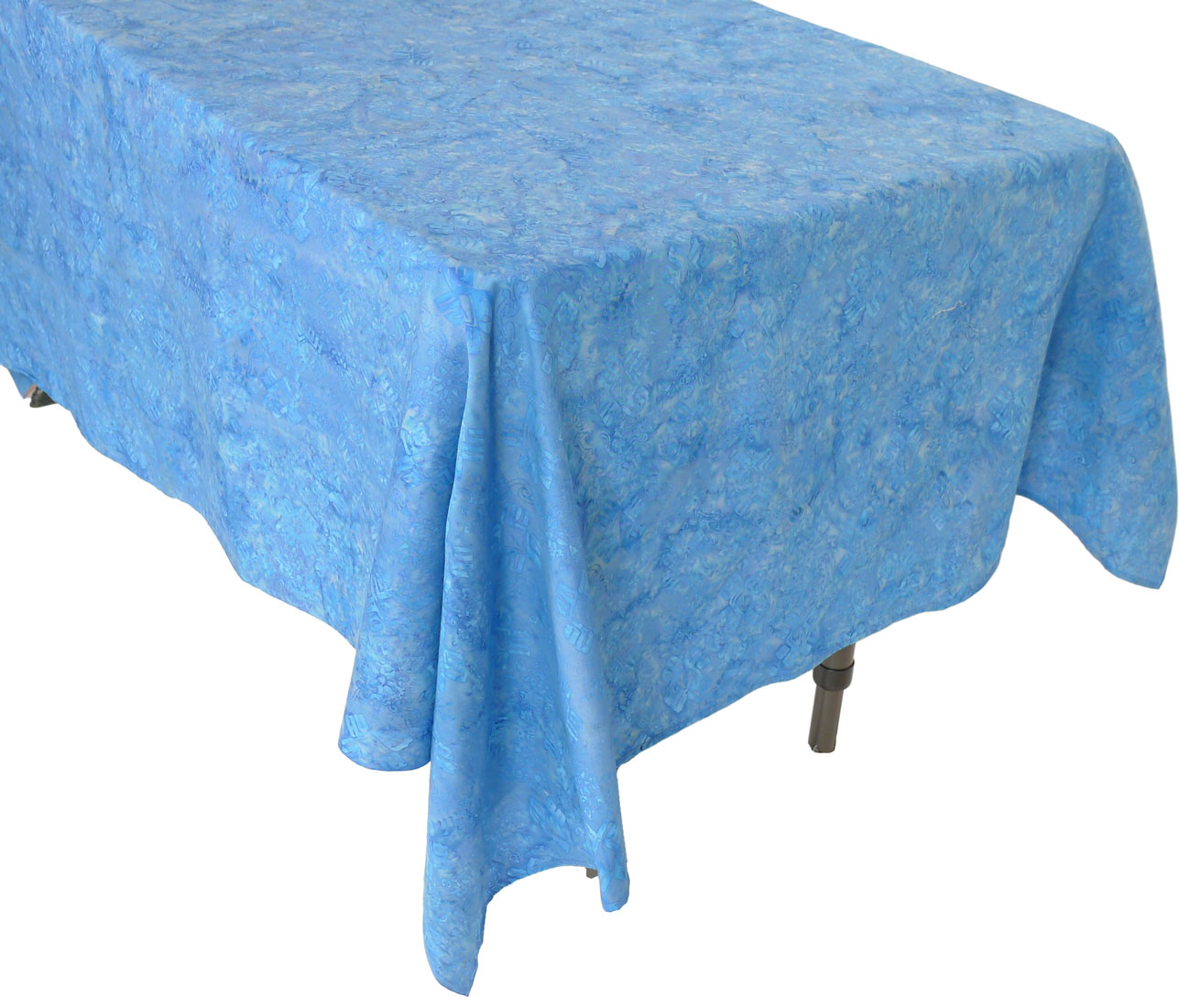 Squish blue diamond coffee table tablecloth Coffee table tablecloth