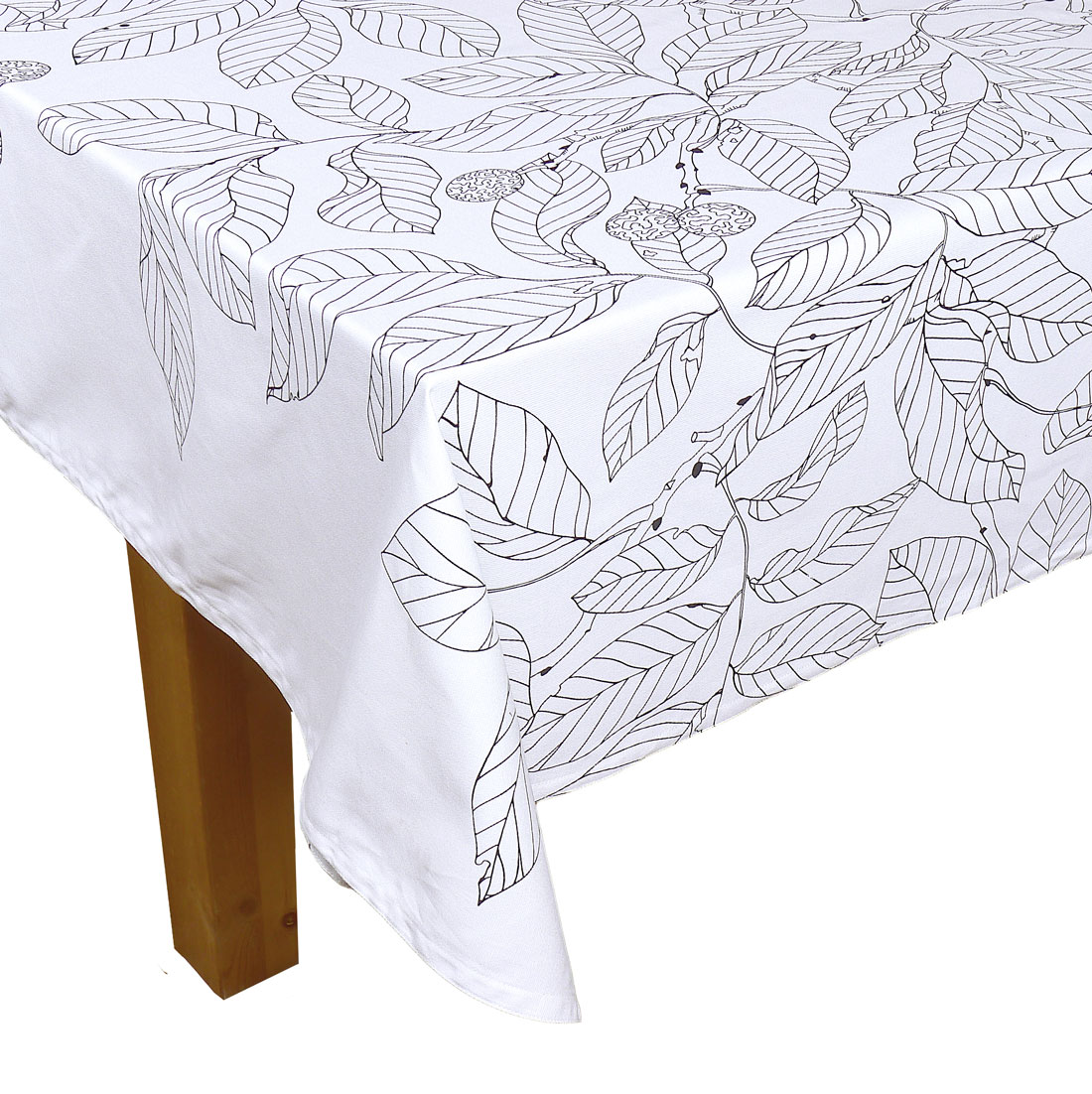 Image of White Madrona Tablecloth