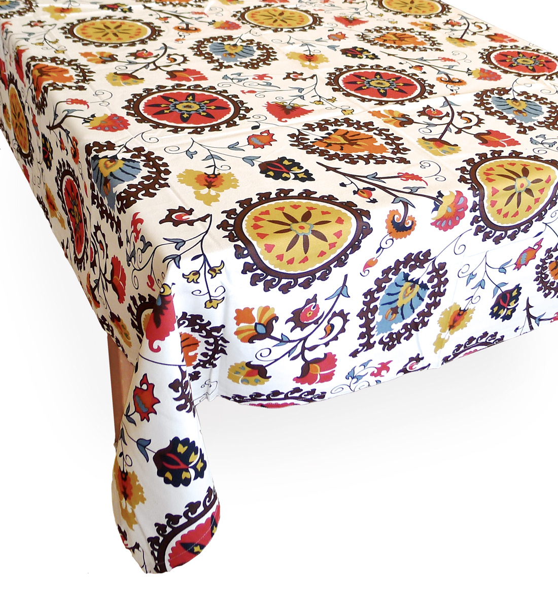 Image of Raja Tablecloth, 90-Inch