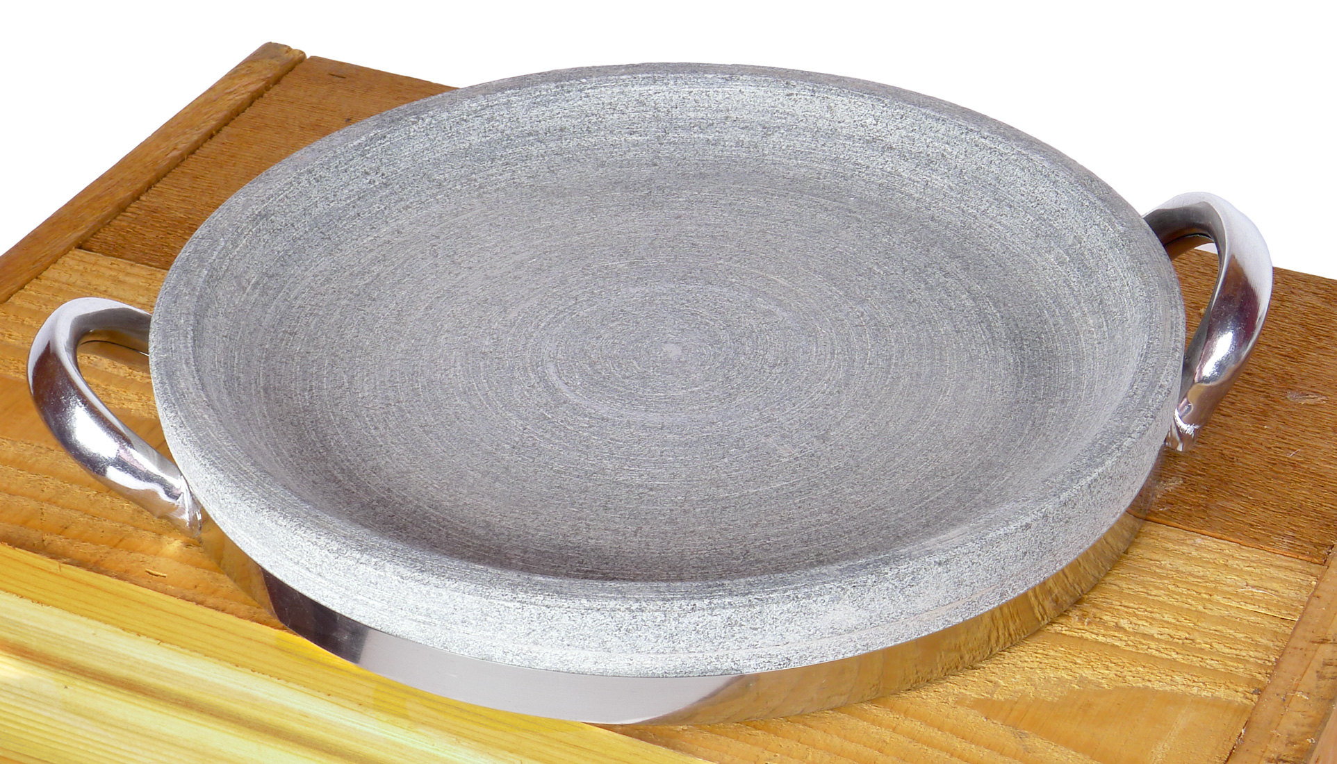 Image of Granite Stone Iron Grilling and Searing Pan