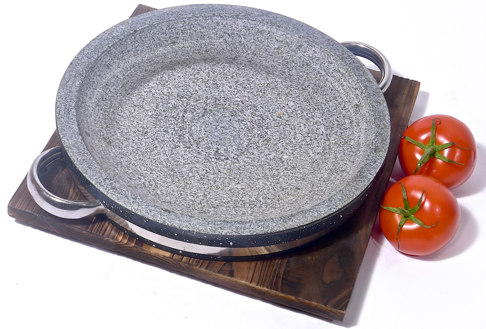 Image of Spiceberry Home Granite Stone Grilling Pan - 11-Inch