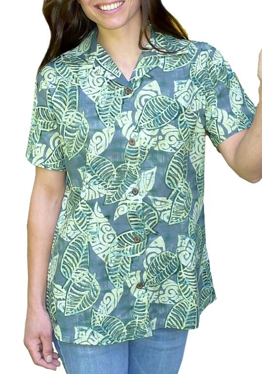 Image of Tiki Leaf - Cotton