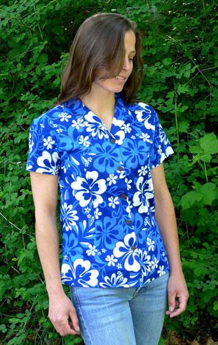 Womens aloha shirt